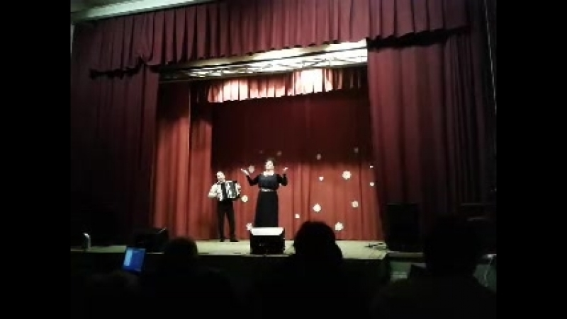 Назифа Кадырова . концерт в Горновском СДК