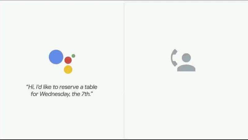 Google I/O 2018 Google Duplex Restaurant Call