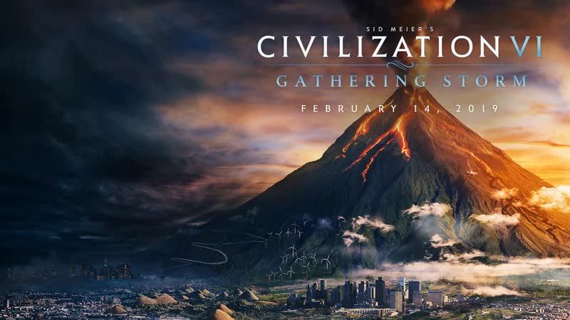 Трейлер дополнения Gathering Storm для Civilization VI