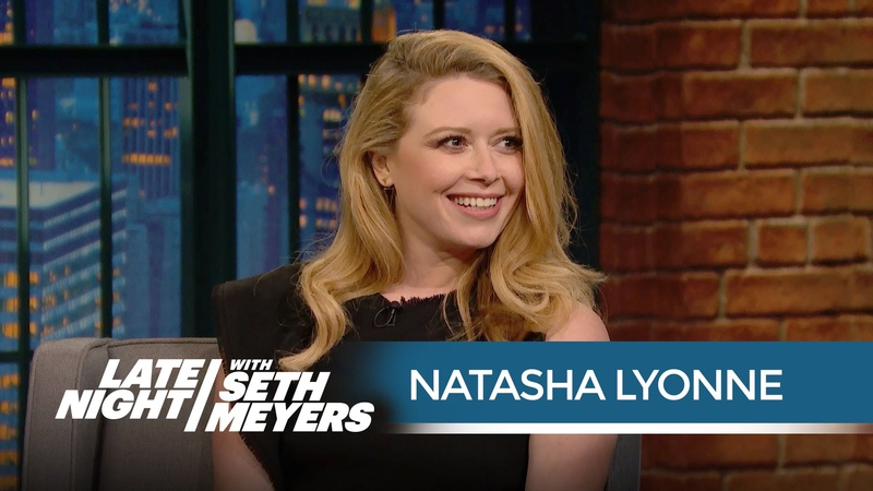 Natasha Lyonne Talks Emmys and Fred Armisens Crazy Red Carpet Look - Late Night with Seth Meyers