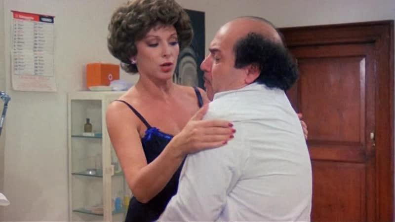 Х/Ф Голодная жена и горячий любовник / La moglie in bianco... l'amante al pepe (Италия - Испания, 1980) Эротическая комедия.