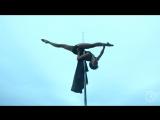 Танец на шесте ''гангуань у'' (англ. Pole Dance), или ''цзидянь юньдун'' (англ. Pole Sport), Шестовая акробатика, или Пилонный т