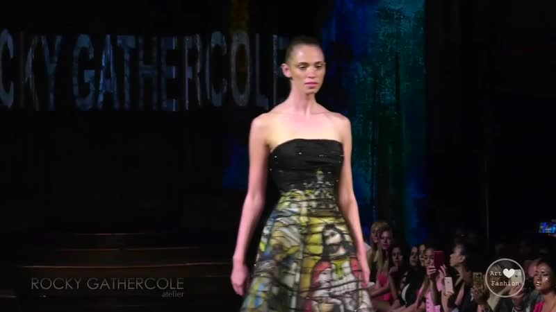 11 09 17 Нью Йорк Rocky Gathercole fashion show during New York Fashion Week NYFW Art Hearts Fashion