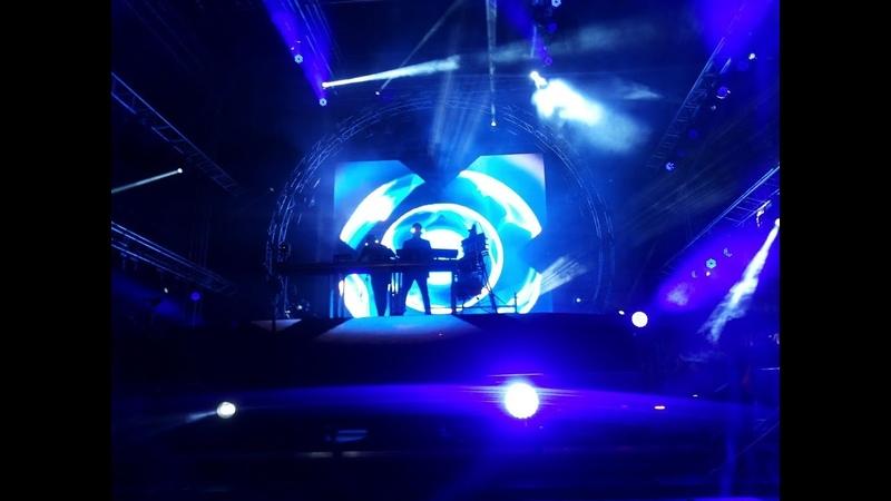 Orbital - Chime (live on Bosco Fresh Fest, Moscow, 11/06/2018)