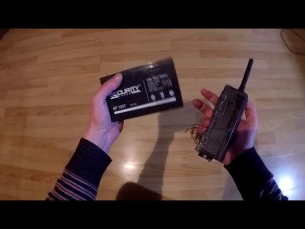 Suntek HC 500G и внешний аккумулятор.