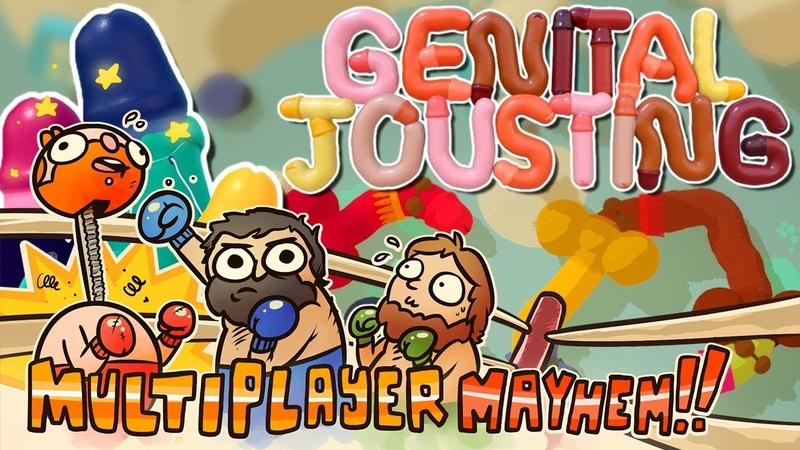 Multiplayer Mayhem Season 4 Genital Jousting