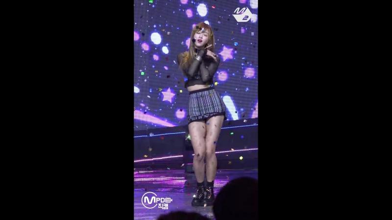 · Fancam · 180920 · OH MY GIRL Remember Me YooA focus · Mnet M Countdown ·