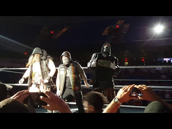 WWE Live: Sanity Entrance (Arlington, TX)