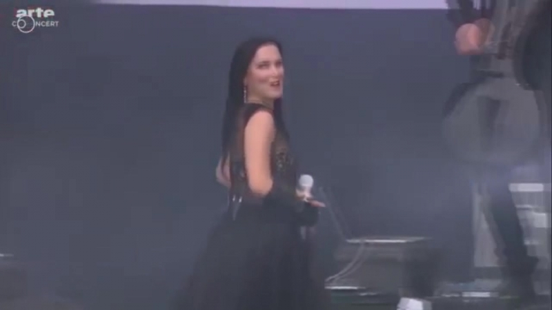 Tarja — Tutankhamen/Ever Dream/The Riddler/Slaying the Dreamer [HellFest|2016]