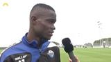 Neuzugang Babacar Guèye im Interview mit SCP07-TV