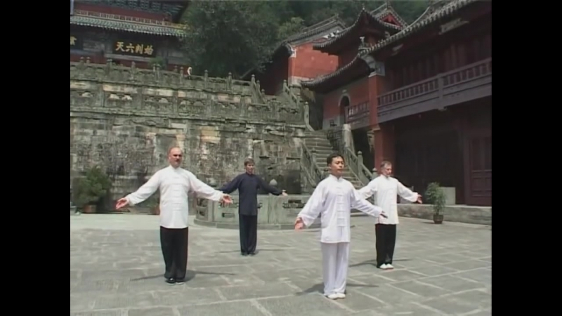 The Baduanjin qigong - Eight Pieces of Brocade
