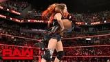 Sasha Banks, Bayley &amp Ember Moon vs. The Riott Squad Raw, Aug. 20, 2018