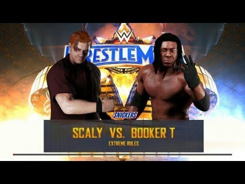 Scaly VS Booker T - Extreme Rules Match