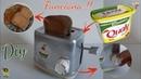 DIY BRINQUEDO | Torradeira Pote de Margarina 🍞 RECICLARTE