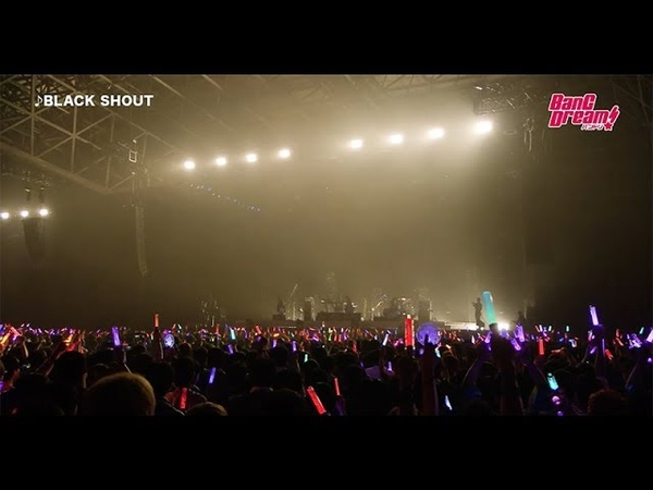 【Roselia】「BLACK SHOUT」ライブ映像【BanG Dream! 5th☆LIVE】