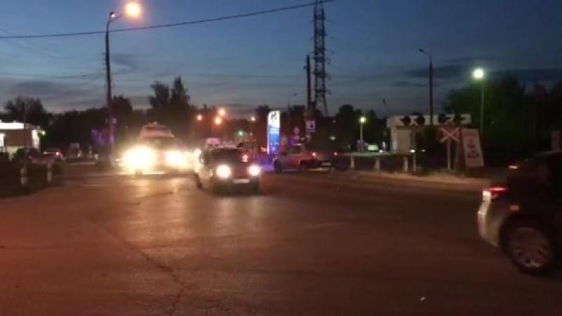 погоня за мотоциклистом в Сормовском районе.
