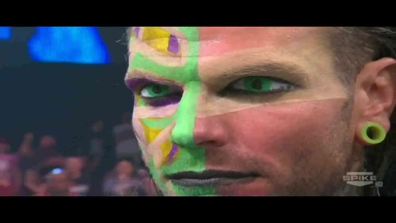 TNA Impact Wrestling 12 01 2012 Jeff Hardy vs Bobby Roode Genesis ReMatch