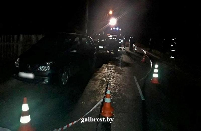 Кобринский район: в результате двойного наезда погиб пешеход, лежавший на проезжей части