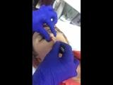 Удаление восоло из носа воском