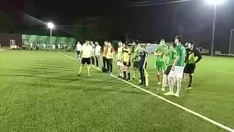 ФК Зеленая Машина - ФК Ураган