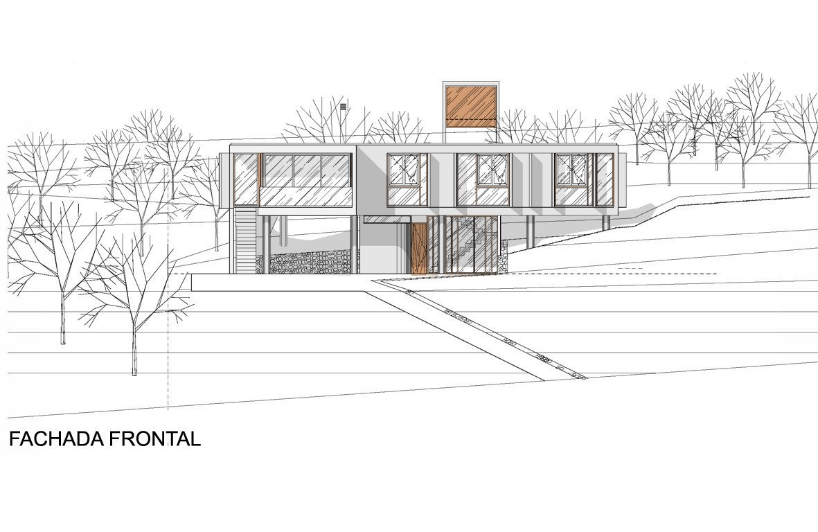 House in La Rufina / Santiago Carlos Viale   Daniella Beviglia