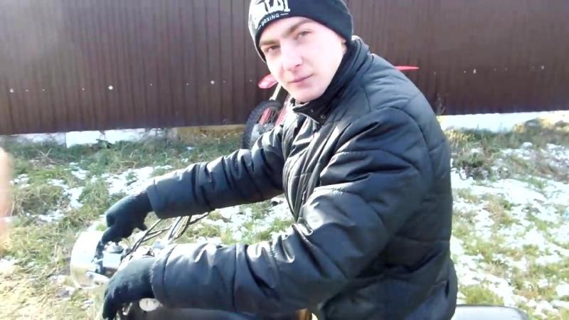 Андрей Скутерец Как научиться водить мотоцикл на примере мопеда Альфа