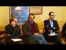 Conferenza stampa di Alessandro Preziosi alla Sala Rollina del Teatro dellAquil