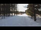 Катаюсь на лыжах в