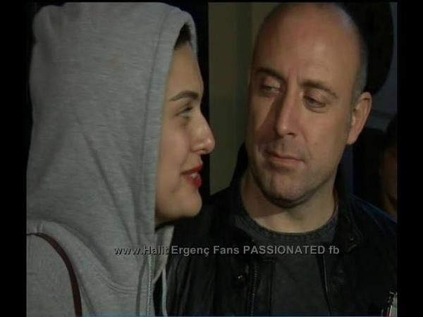 Halit Ergenc Berguzar Korel ....leaving Pinars BD Party 12112015... 2nd VIDEO