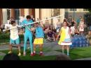 Уличный цирк Cink Cink Сirk на пражском Выставиште