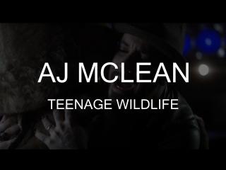 AJ McLean – Teenage Wildlife