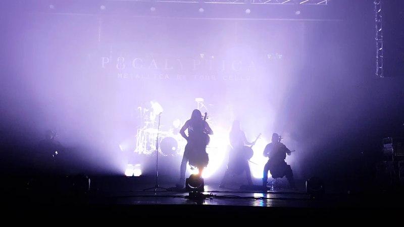 Apocalyptica - One (live Nizhny Novgorod, Russia, 2018)