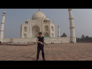 Taj mahal and flairing