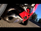 Ducati 1199 Panigale R Fly By  Termignoni Exhaust Sound Test