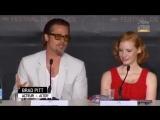 2011 Пресс-конференция с кастом фильма Древо жизни в рамках шестьдесят четвертого Каннского кинофестиваля