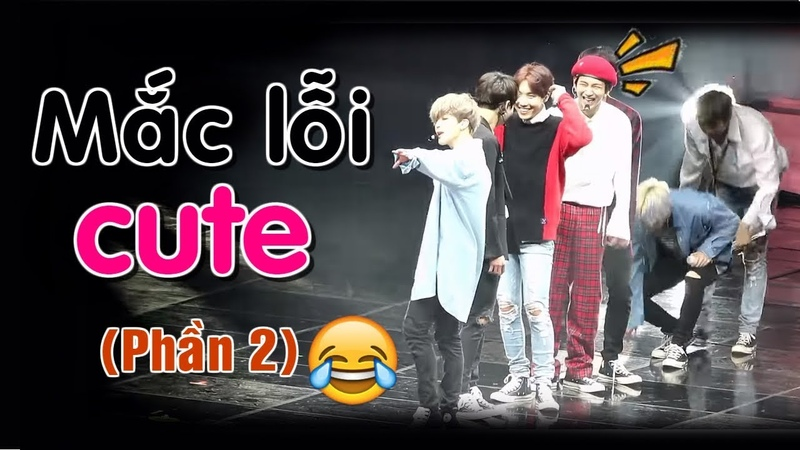 [BTS funny moments 25] Mắc lỗi CUTE ~ (Phần 2) (BTS cute mistakes)