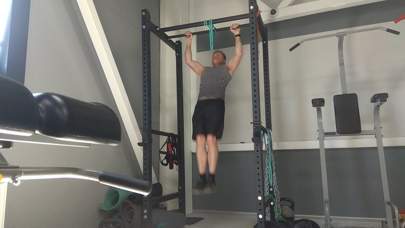 PullUps Almost 41 (40Ready) BW 73kg