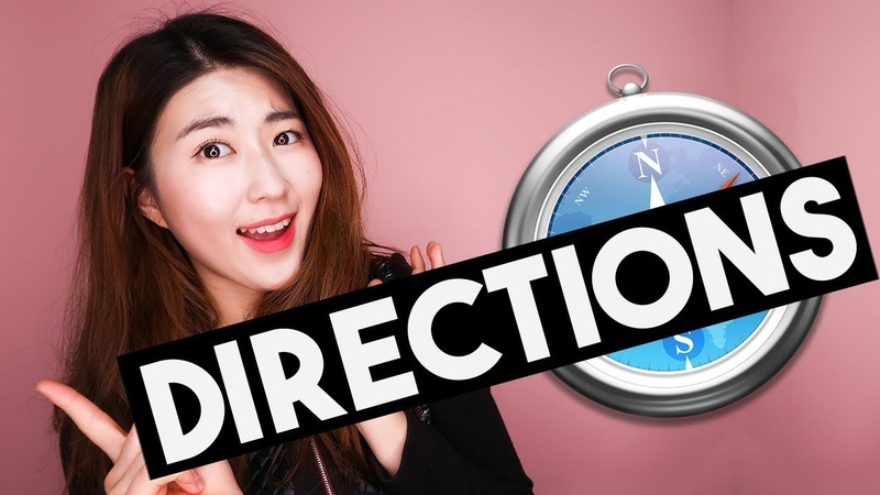 TOP 10 Must-Know Korean Phrases about Directions!!   한국언니 Korean Unnie