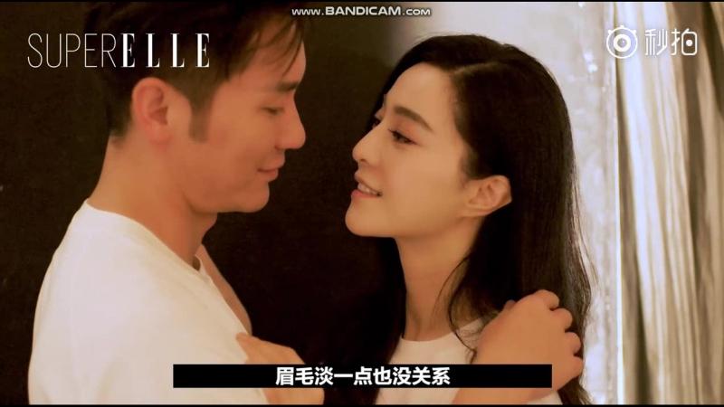 Фотосессия Фань Бинбин и Ли Ченя для февральского ELLE 2018 Fan Bingbing Li Chen