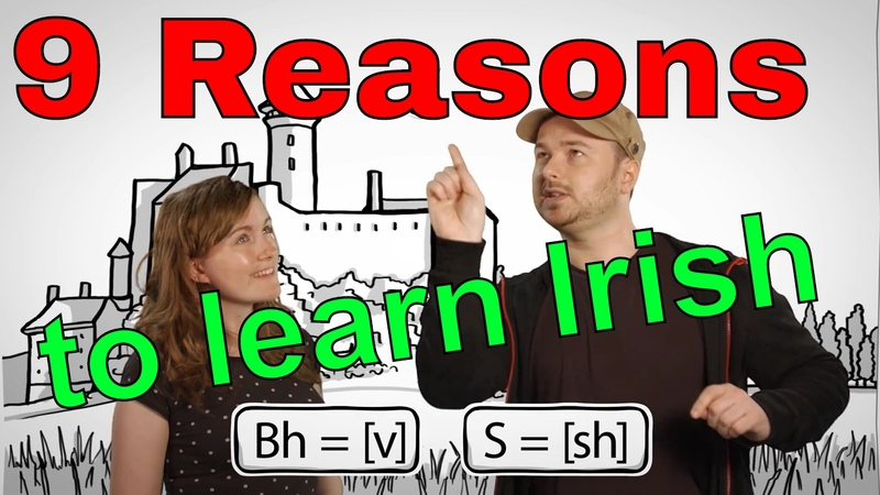 9 Reasons to Learn Irish☘💚 (with Benny the Irish Polyglot Lindsay Does Languages)