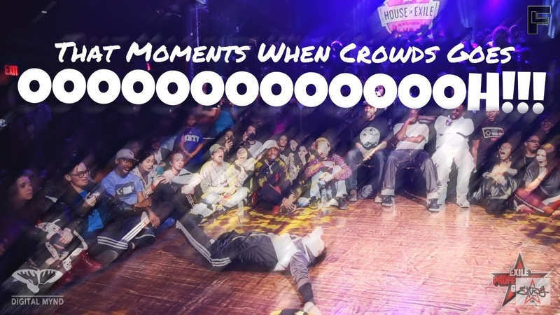 That Moment When Crowd Goes OOOOOH!! | 1st Edition les twins,Bad Machine, Blueprint more