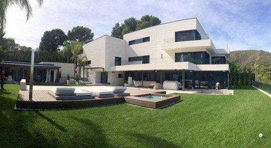 фото дома Лионеля Месси