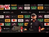 OK, bye - when Klopp replaces Guardiola during his press conference ?