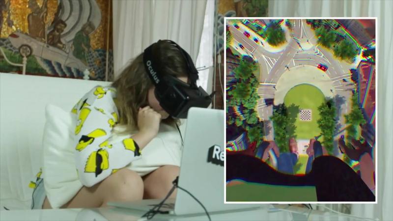 Реакции детей на очки виртуальной реальности