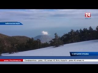 Журналисты «Крым 24» вместе с туристами в честь Крымской весны поднялись на гору Роман-Кош