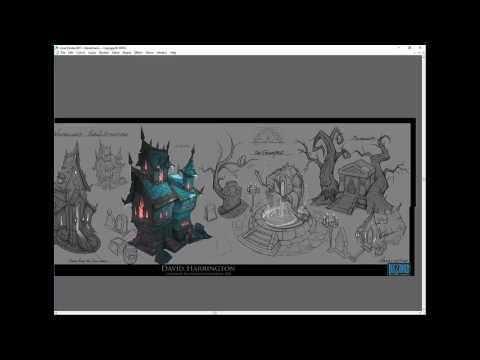 Content Creation and concept design featuring David Harrington - Concept Art