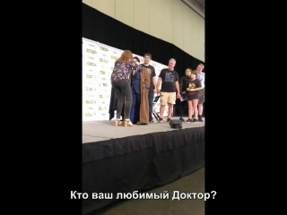 Отрывок из панели на «Fan Expo Boston» [RUS SUB]