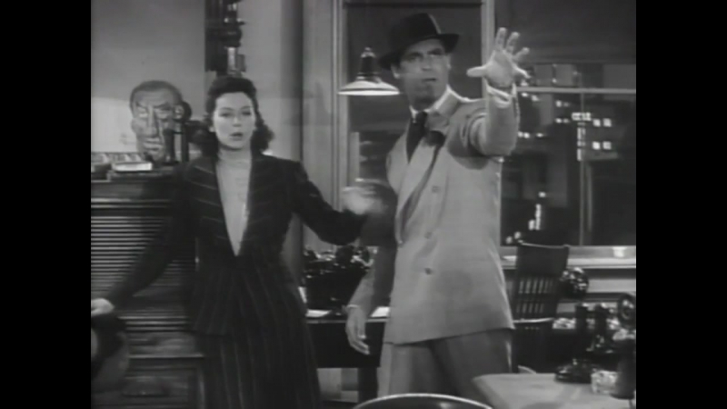 His Girl Friday (1940) - Comedy, Drama, Romance | Cary Grant, Rosalind Russell | Classic Films