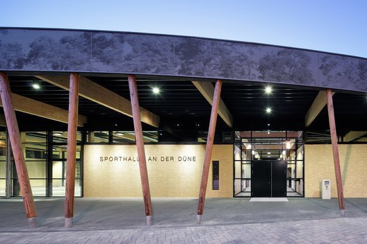 Sports Hall at Schuldorf Bergstrasse / Loewer   Partner Architekten