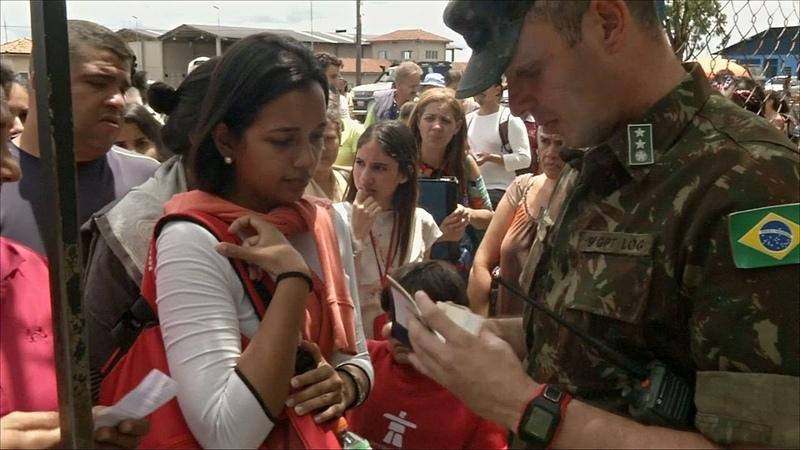Бразилия снова открыла свои границы для мигрантов из Венесуэлы